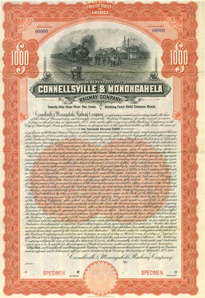 Connellsville & Monongahela Railway Company