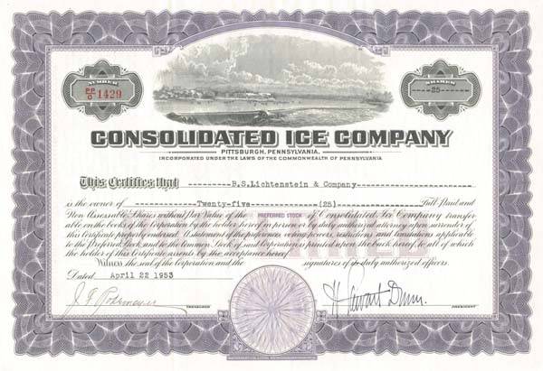 Consolidated Ice Company