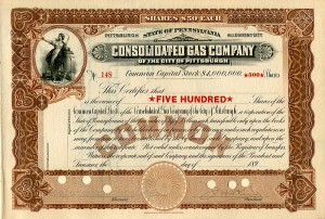 Consolidated Gas Company of the City of Pittsburgh