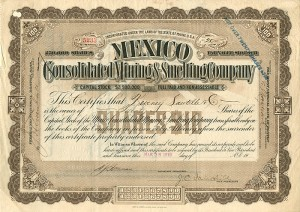 Mexico Consolidated Mining & Smelting Company