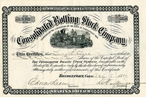 Consolidated Rolling Stock Company