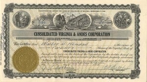 Consolidated Virginia & Andes Corporation