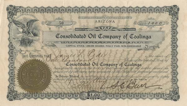 Consolidated Oil Company of Coalinga