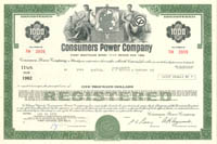 Consumers Power Company - 1,000
