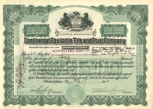 Continental-Equitable Title and Trust Company