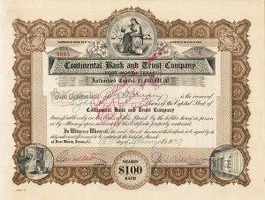 Continental Bank & Trust Company