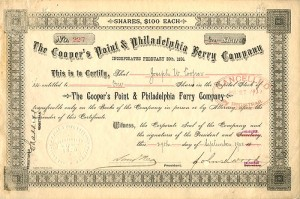 Cooper's Point & Philadelphia Ferry Company