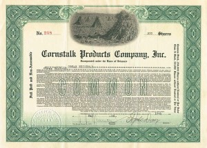 Cornstalk Products Company, Inc.