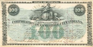 Corporation of Cambridge City of Indiana