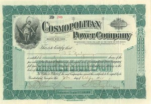 Cosmopolitan Power Company - SOLD
