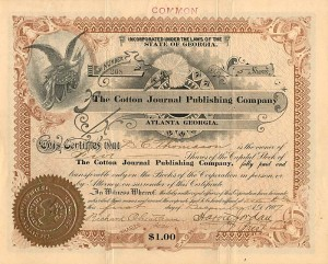 Cotton Journal Publishing Company