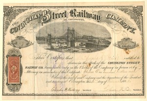 Covington Street Railway Company - SOLD