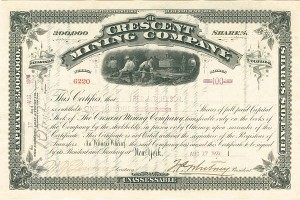 Crescent Mining Company, of Leadville, Colorado
