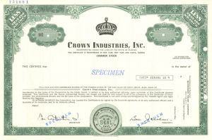 Crown Industries, Inc
