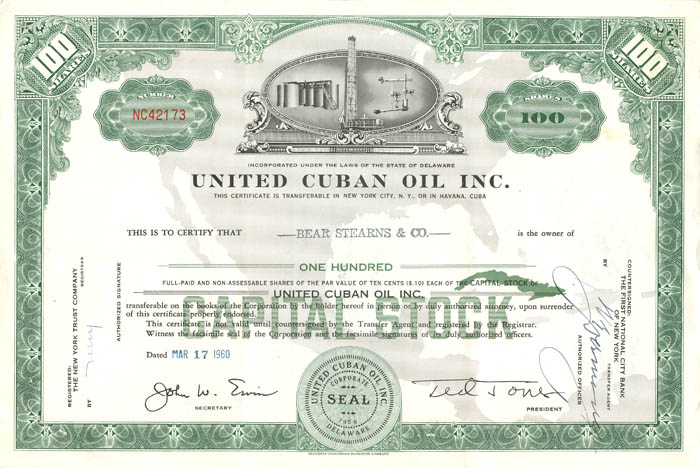 United Cuban Oil Inc.