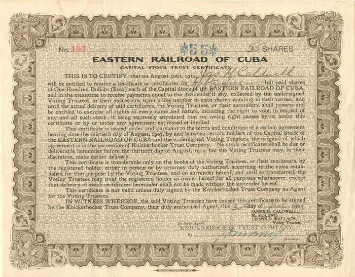 Eastern Railroad of Cuba