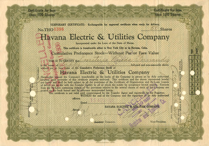 Havana Electric and Utilities Company