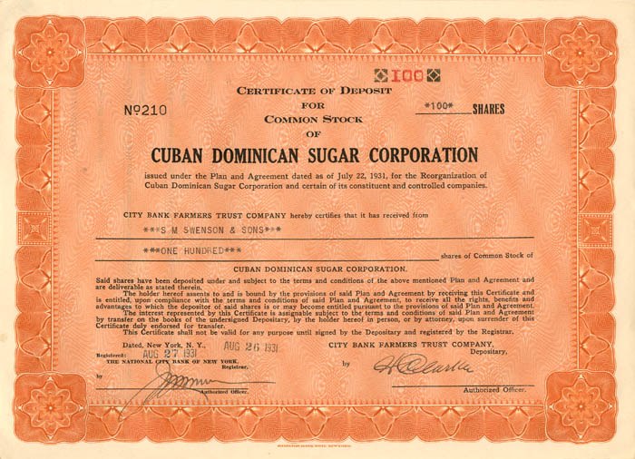 Cuban Dominican Sugar Corporation