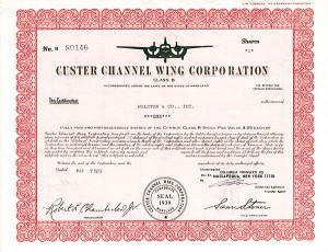 Custer Channel Wing Corporation
