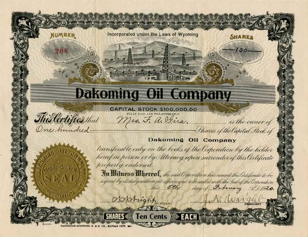 Dakoming Oil Company
