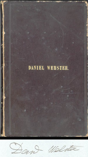 Daniel Webster Book - SOLD