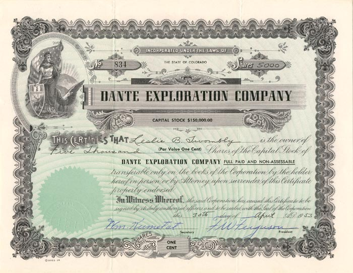Dante Exploration Company