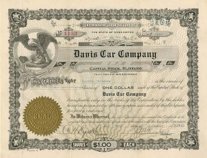 Davis Car Company - SOLD