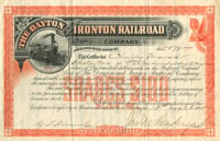 Dayton and Ironton Railroad Company - SOLD