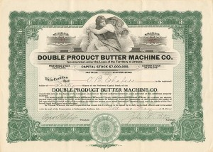 Double Product Butter Machine Co.