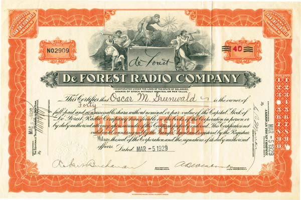 DeForest Radio Company