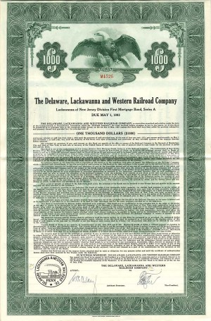 Delaware, Lackawanna and Western Railroad Company