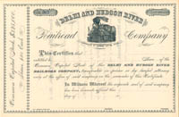 Delhi and Hudson River Railroad Company