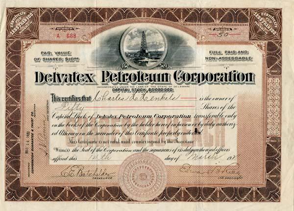Delvatex Petroleum Corporation