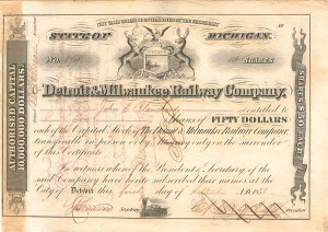 Detroit & Milwaukee Railway Company