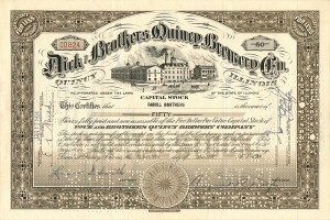 Dick and Brothers Quincy Brewery Co. - SOLD