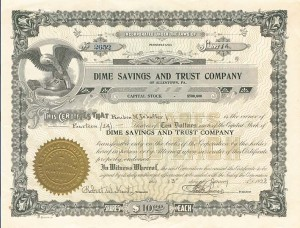 Dime Savings & Trust Company