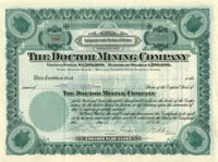 Doctor Mining Company - SOLD