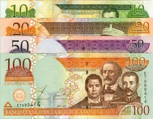 Dominican Republic Set of 4 Notes
