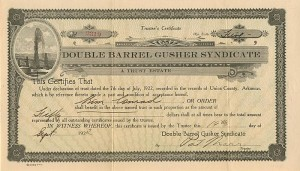 Double Barrel Gusher Syndicate - SOLD