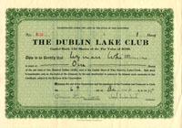 Dublin Lake Club - SOLD