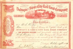 Dubuque and Sioux City Rail Road Company