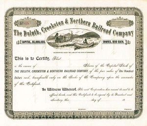 Duluth, Crookston & Northern Railroad