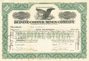 Dupont Copper Mines Company