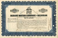 Durant Motor Company of Michigan