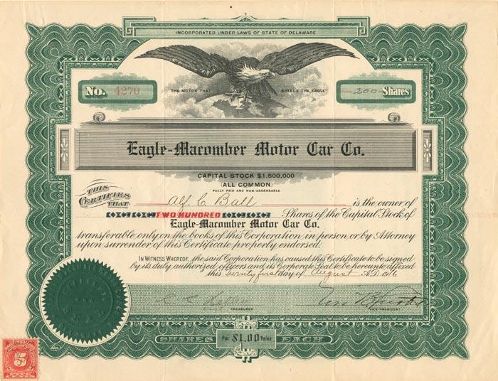 Eagle Macomber Motor Car Company