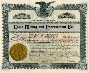 Eagle Mining and Improvement Co. of New Mexico