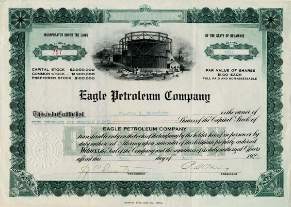 Eagle Petroleum Company