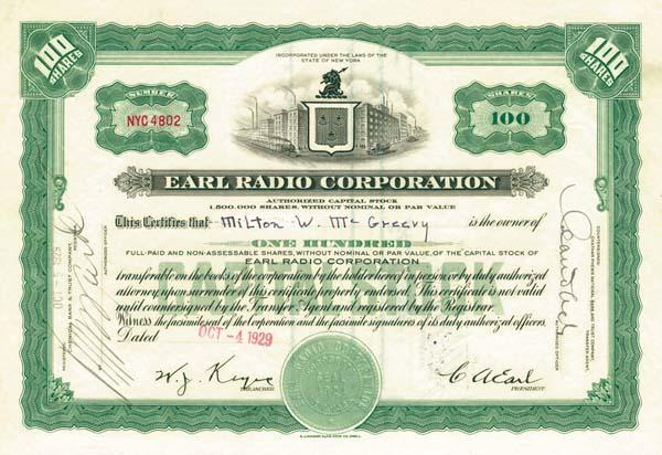 Earl Radio Corporation