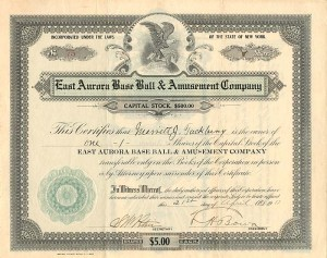 East Aurora Base Ball & Amusement Company
