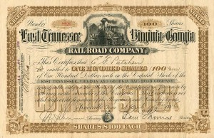 East Tennessee, Virginia and Georgia Railroad Company